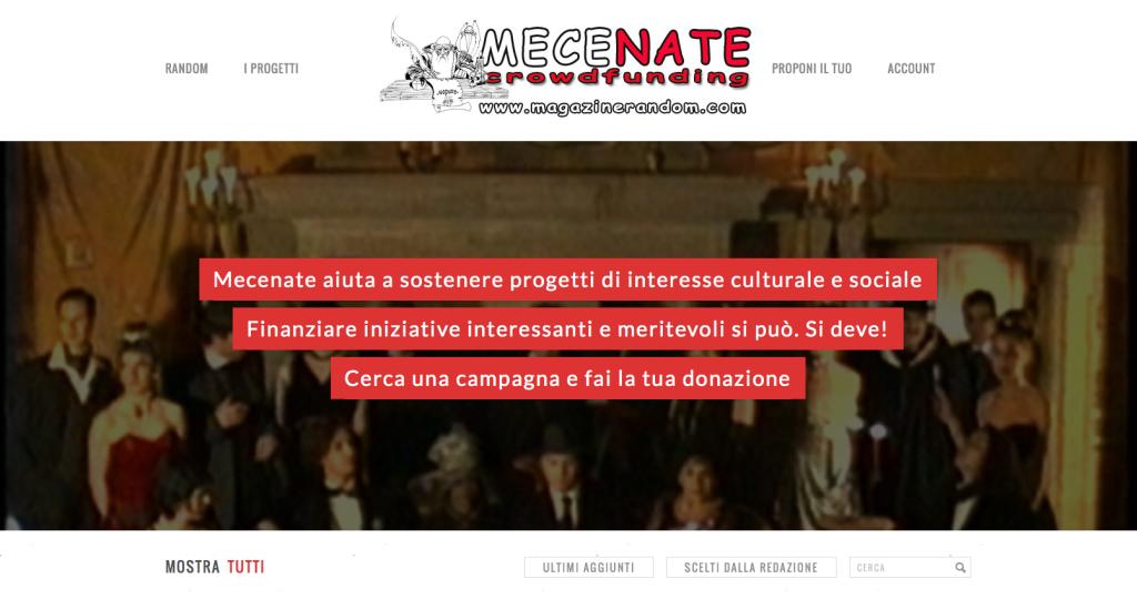 Mecenate Demo