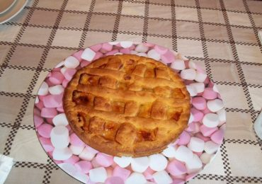 crostata con lemon curd