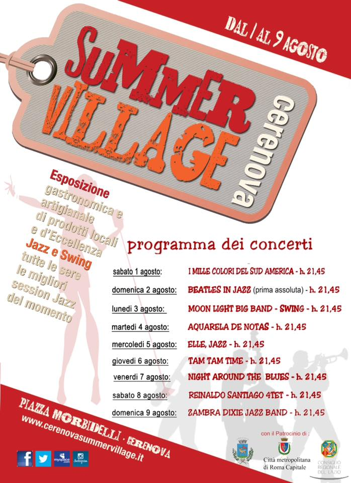 Cerenova Summer Village 2015